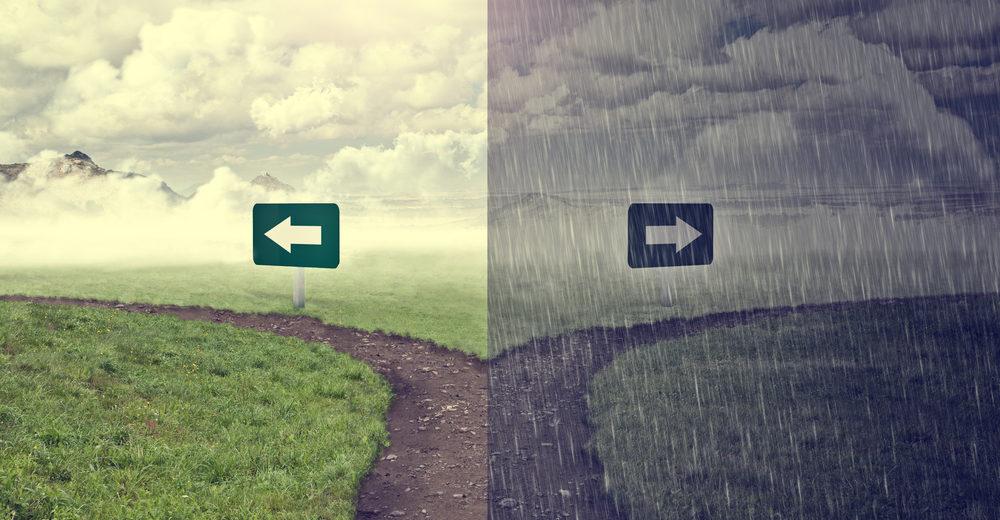Miedo a elegir, una decisión puede implicar un cambio y nos enfrenta a nosotros mismos, a lo que queremos y también nos enfrenta a una pérdida