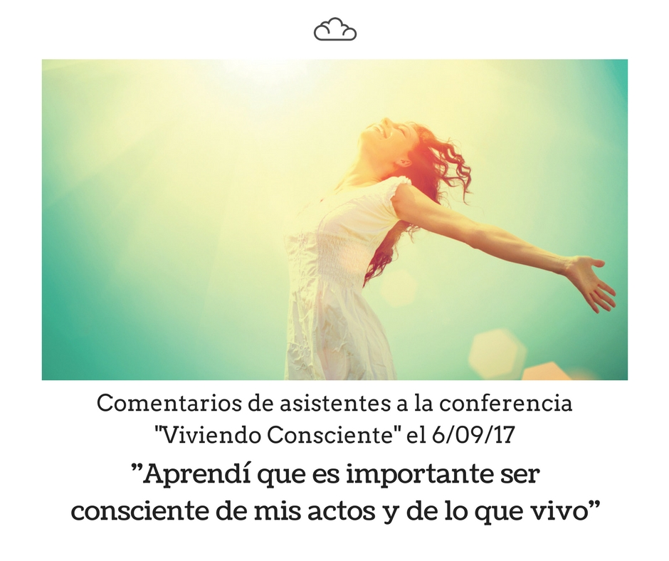 Conferencia Viviendo consciente